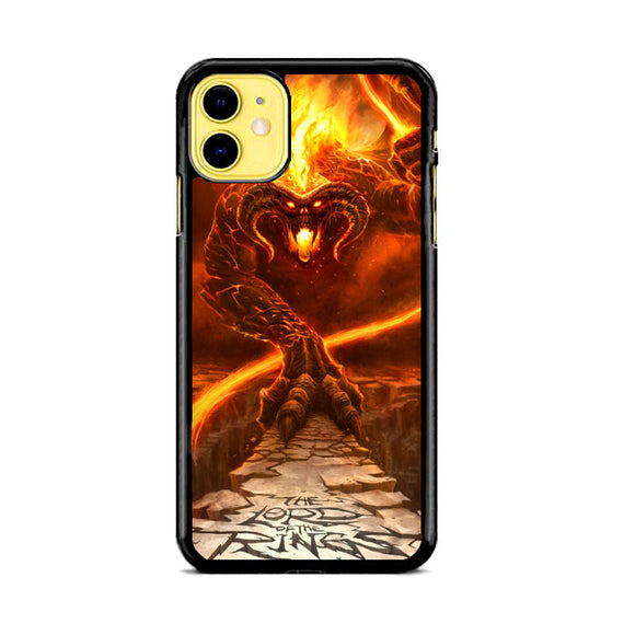 Balrog The Lord Of The Rings iPhone 11 Case | Babycase