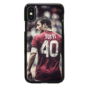 Francesco Totti As Roma 40 iPhone X Case | Babycase