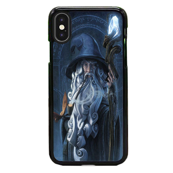 Gandalf Lord Of The Rings Fan Art iPhone X Case | Babycase