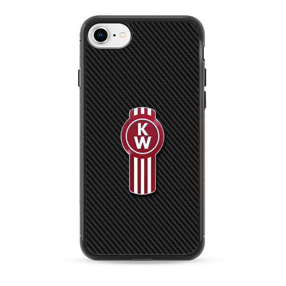 Kenworth Emblem Carbon iPhone 8 Case | Babycase