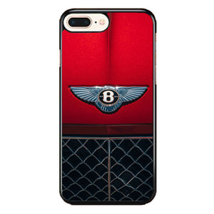 Red Bentley Car Emblem Wallpaper iPhone 8 Plus Case | Babycase