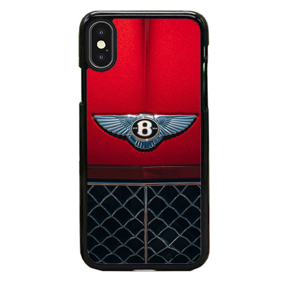 Red Bentley Car Emblem Wallpaper iPhone XS Case | Babycase