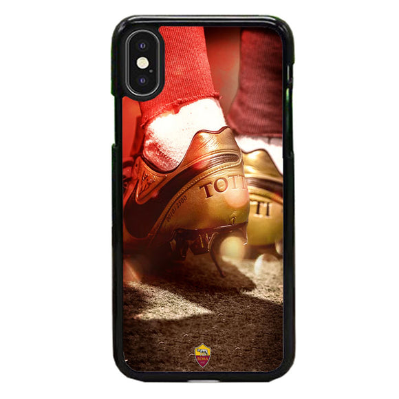 Totti As Roma Shoes Wallpaper iPhone XS Case | Babycase