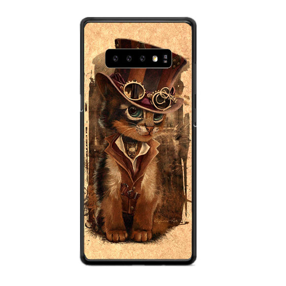 Kat Steampunk Samsung Galaxy S10 Plus Case | Babycasee