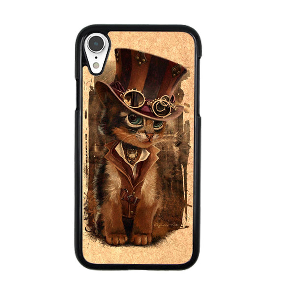 Kat Steampunk iPhone XR Case | Babycasee