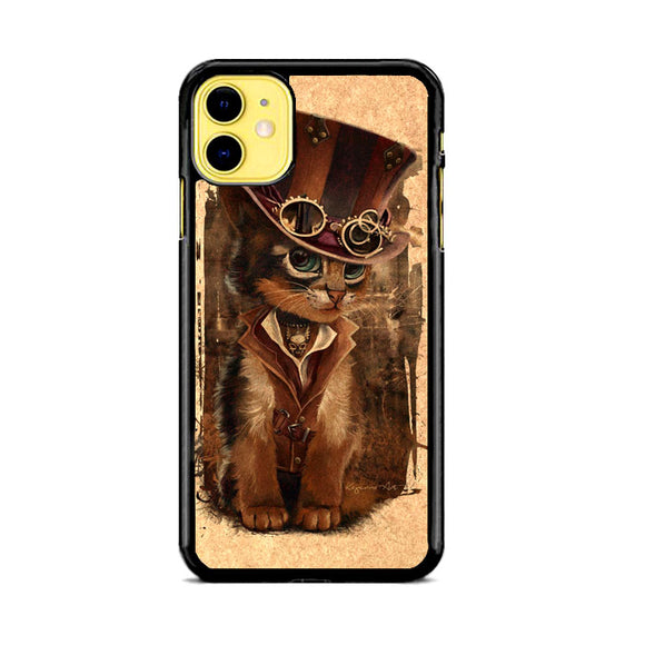 Kat Steampunk iPhone 11 Case | Babycasee