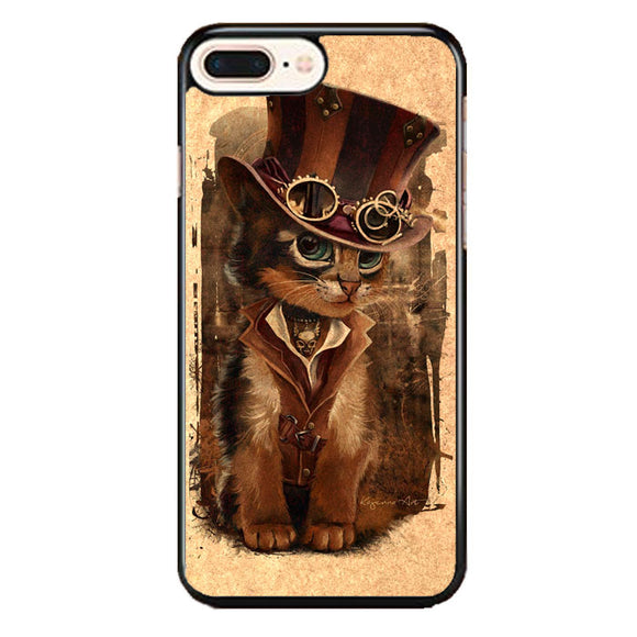 Kat Steampunk iPhone 7 Plus Case | Babycasee