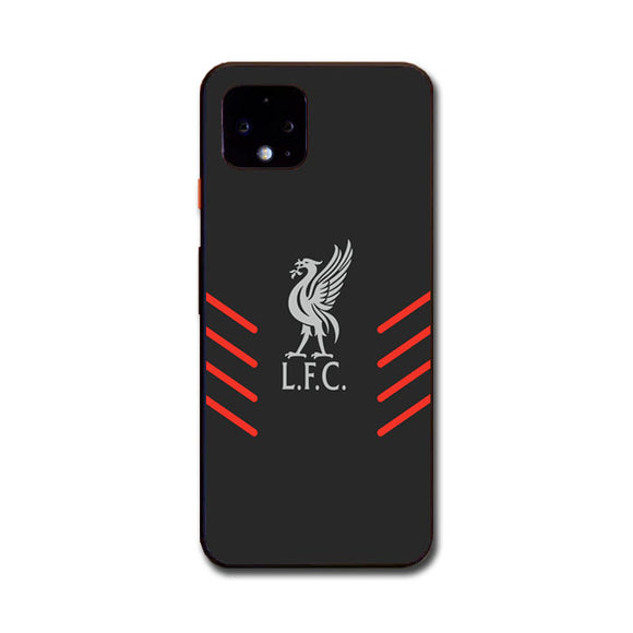Liverpool Fc Gray Wallpaper Logo Google Pixel 4 XL Case | Babycasee
