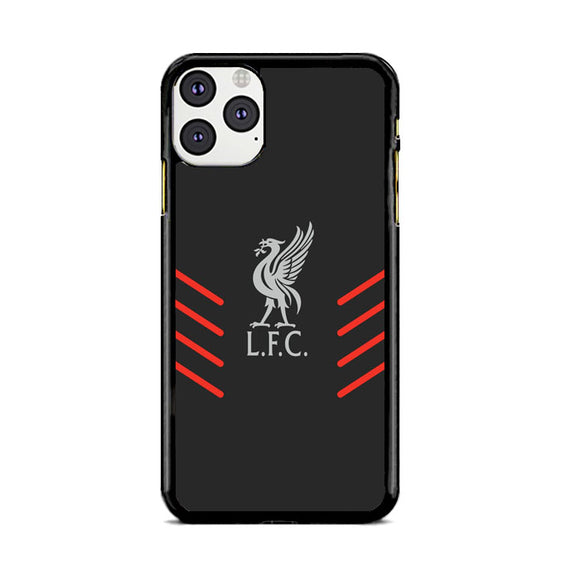 Liverpool Fc Gray Wallpaper Logo iPhone 11 Pro Case | Babycasee