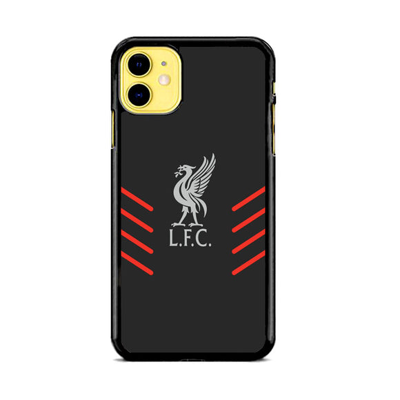 Liverpool Fc Gray Wallpaper Logo iPhone 11 Case | Babycasee