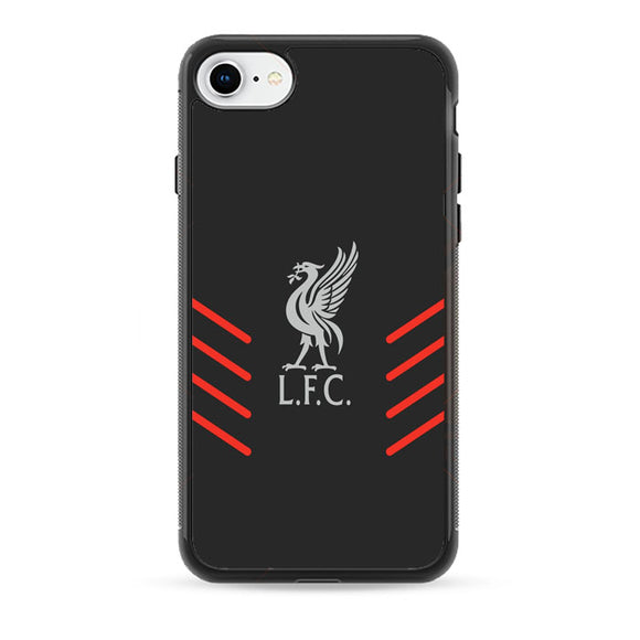 Liverpool Fc Gray Wallpaper Logo iPhone 7 Case | Babycasee