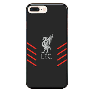 Liverpool Fc Gray Wallpaper Logo iPhone 8 Plus Case | Babycasee