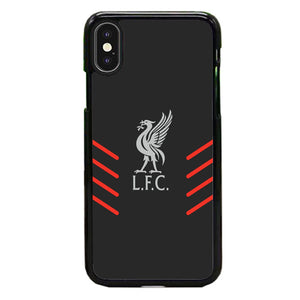 Liverpool Fc Gray Wallpaper Logo iPhone X Case | Babycasee