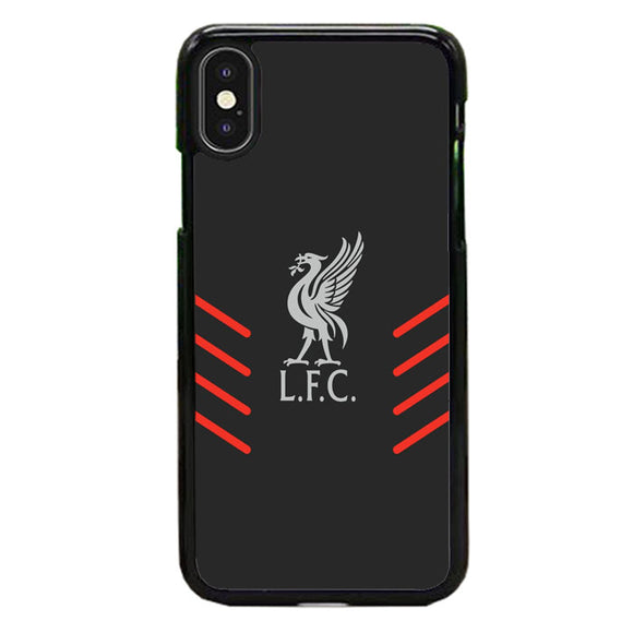 Liverpool Fc Gray Wallpaper Logo iPhone XS Max Case | Babycasee