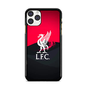 Liverpool Fc White Logo Red Black Wallpaper iPhone 11 Pro Max Case | Babycasee