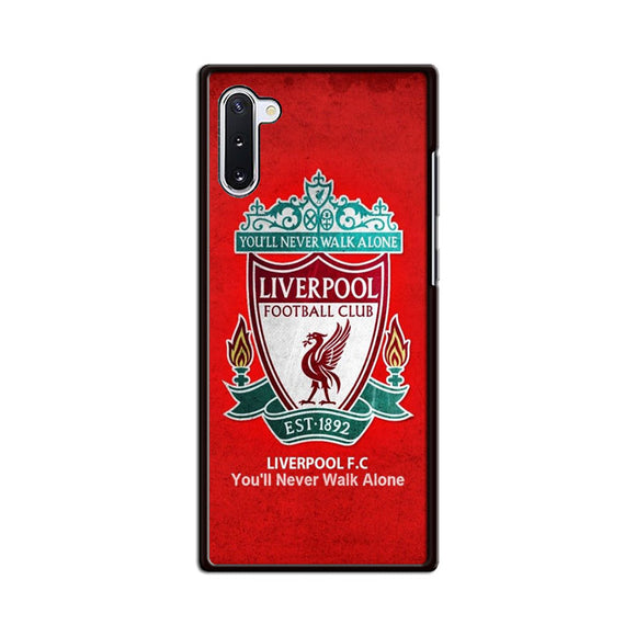Liverpool Youll Never Walk Alone Samsung Galaxy Note 10 Case | Babycasee