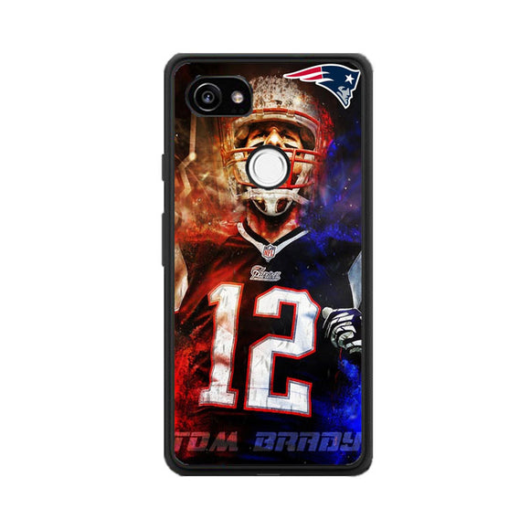 Nfl Patriots 12 Tom Brady Google Pixel 2 XL Case | Babycasee