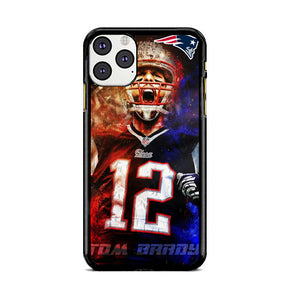 Nfl Patriots 12 Tom Brady iPhone 11 Pro Max Case | Babycasee