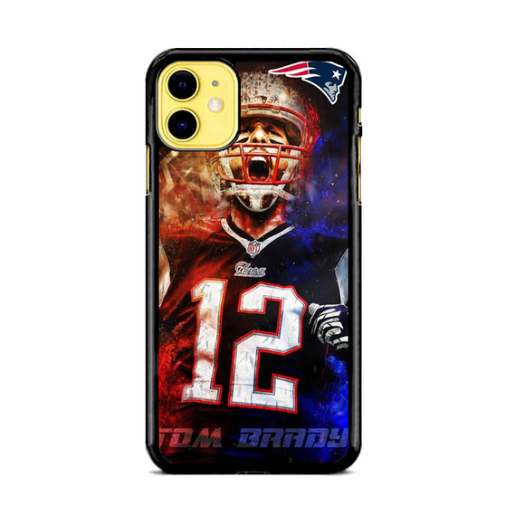 Nfl Patriots 12 Tom Brady iPhone 11 Case | Babycasee