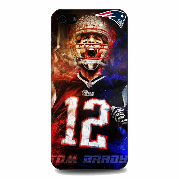 Nfl Patriots 12 Tom Brady iPhone 5|5S|SE Case | Babycasee