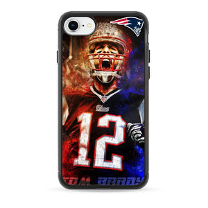 Nfl Patriots 12 Tom Brady iPhone 8 Case | Babycasee