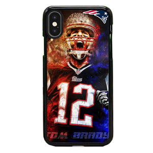 Nfl Patriots 12 Tom Brady iPhone XS Case | Babycasee