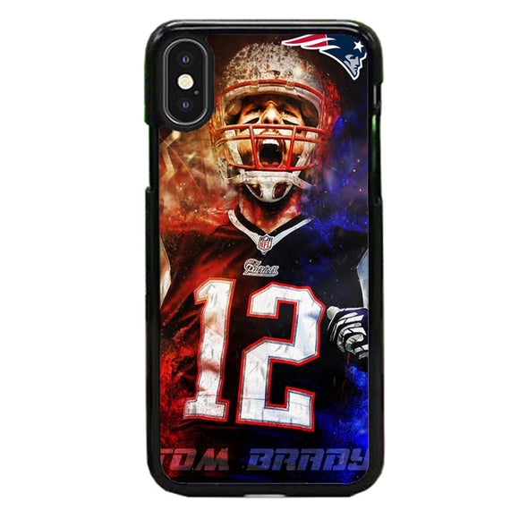 Nfl Patriots 12 Tom Brady iPhone XS Max Case | Babycasee