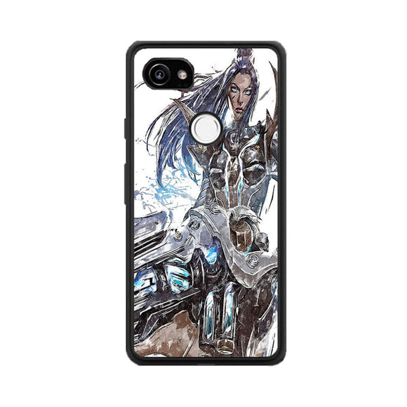 Pulsefire Caitlyn League Of Legends Art Google Pixel 2 Case | Babycasee