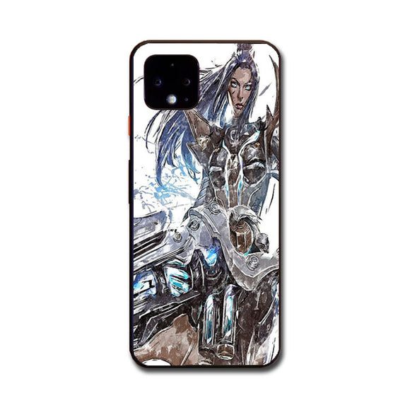 Pulsefire Caitlyn League Of Legends Art Google Pixel 4 XL Case | Babycasee
