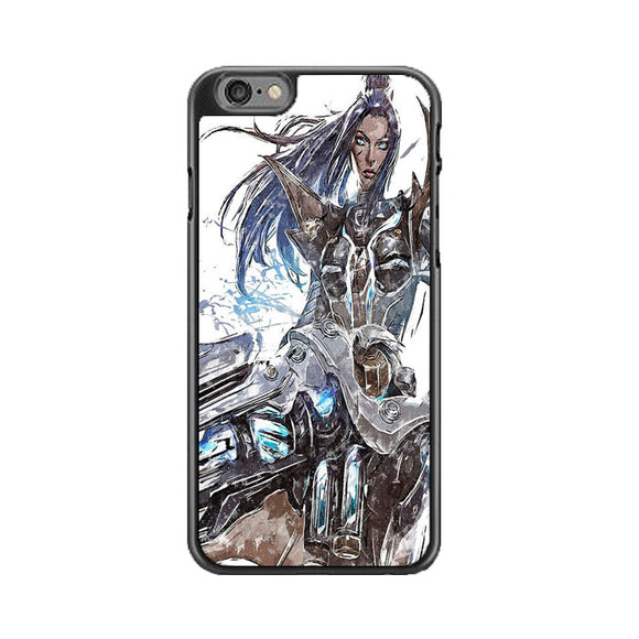 Pulsefire Caitlyn League Of Legends Art iPhone 6|6S Case | Babycasee