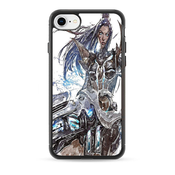 Pulsefire Caitlyn League Of Legends Art iPhone 8 Case | Babycasee