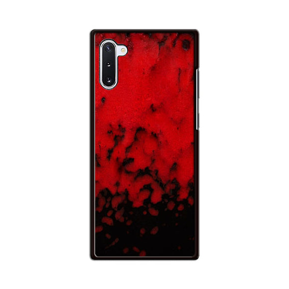Red Stone Stoneware Marble Samsung Galaxy Note 10 Case | Babycasee