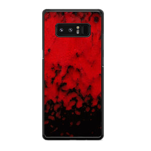 Red Stone Stoneware Marble Samsung Galaxy Note 8 Case | Babycasee