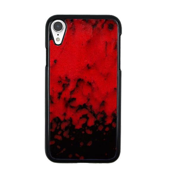 Red Stone Stoneware Marble iPhone XR Case | Babycasee