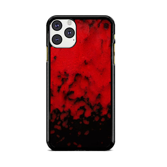 Red Stone Stoneware Marble iPhone 11 Pro Max Case | Babycasee