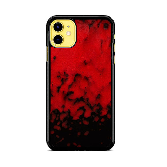 Red Stone Stoneware Marble iPhone 11 Case | Babycasee