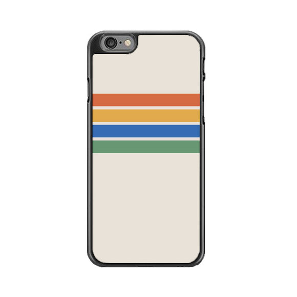 Rainbow Stripes Color Block iPhone 6|6S Case | Babycasee