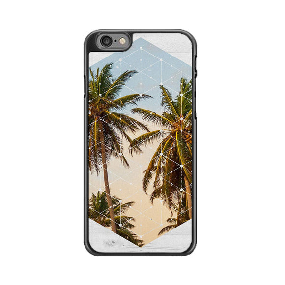 Summer Palm Trees Cali White Wood iPhone 6|6S Case | Babycasee