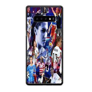 Alex Morgan Collage Woman Football Samsung Galaxy S10 Plus Case | Babycasee