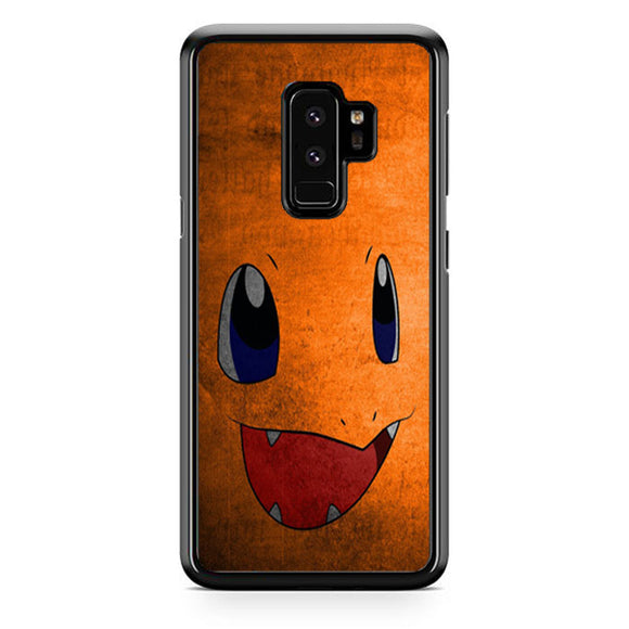 Anime Pokemon Minimalist Charmander Orange Samsung Galaxy S9 Plus| Babycasee