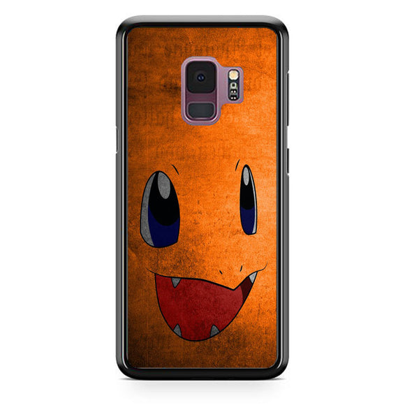 Anime Pokemon Minimalist Charmander Orange Samsung Galaxy S9 Case | Babycasee