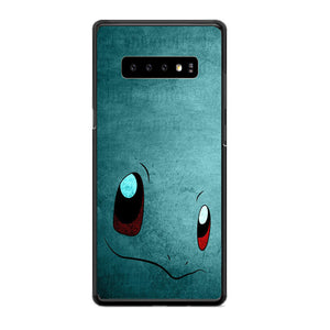 Anime Pokemon Minimalist Squirtle Blue Samsung Galaxy S10 Plus Case | Babycasee