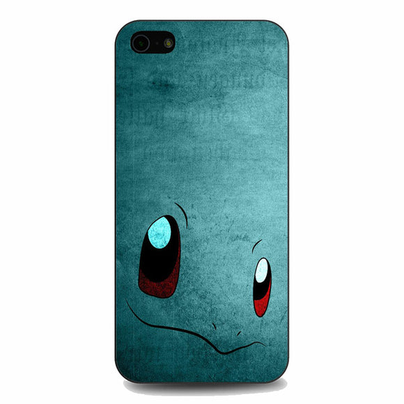 Anime Pokemon Minimalist Squirtle Blue iPhone 5|5S|SE Case | Babycasee
