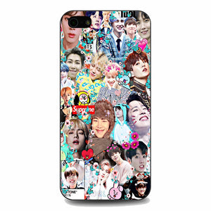 Bts All Member Collage iPhone 5|5S|SE Case | Babycasee