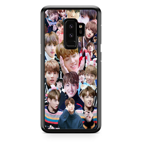 Bts Jungkook Kookie Collage Wallpaper Samsung Galaxy S9 Plus| Babycasee