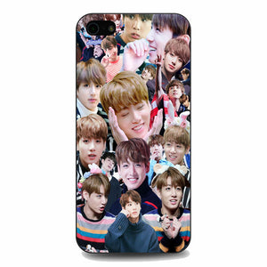 Bts Jungkook Kookie Collage Wallpaper iPhone 5|5S|SE Case | Babycasee