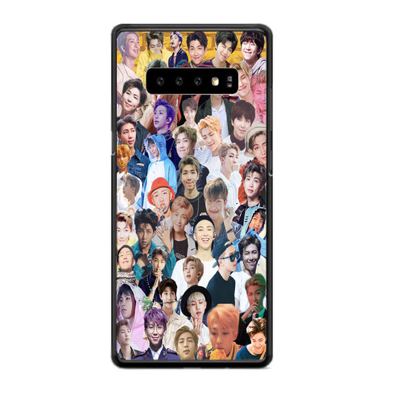 Bts Rm Collage Wallpaper Samsung Galaxy S10 Case | Babycasee