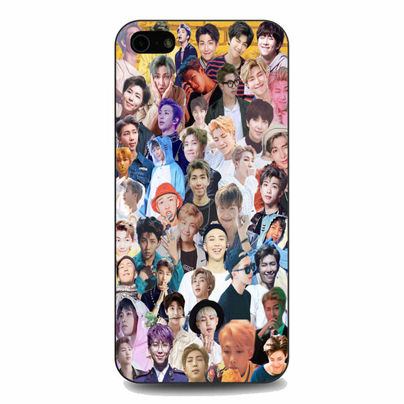Bts Rm Collage Wallpaper iPhone 5|5S|SE Case | Babycasee