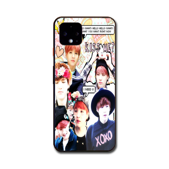 Bts Suga Collage Wallpaper Google Pixel 4 XL Case | Babycasee