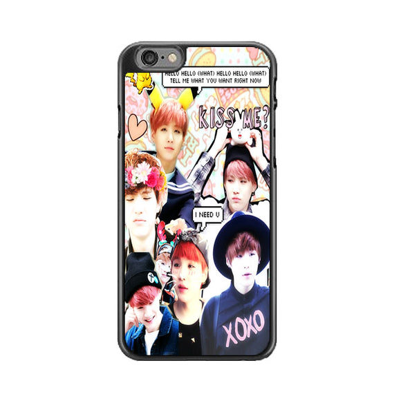 Bts Suga Collage Wallpaper iPhone 6|6S Case | Babycasee